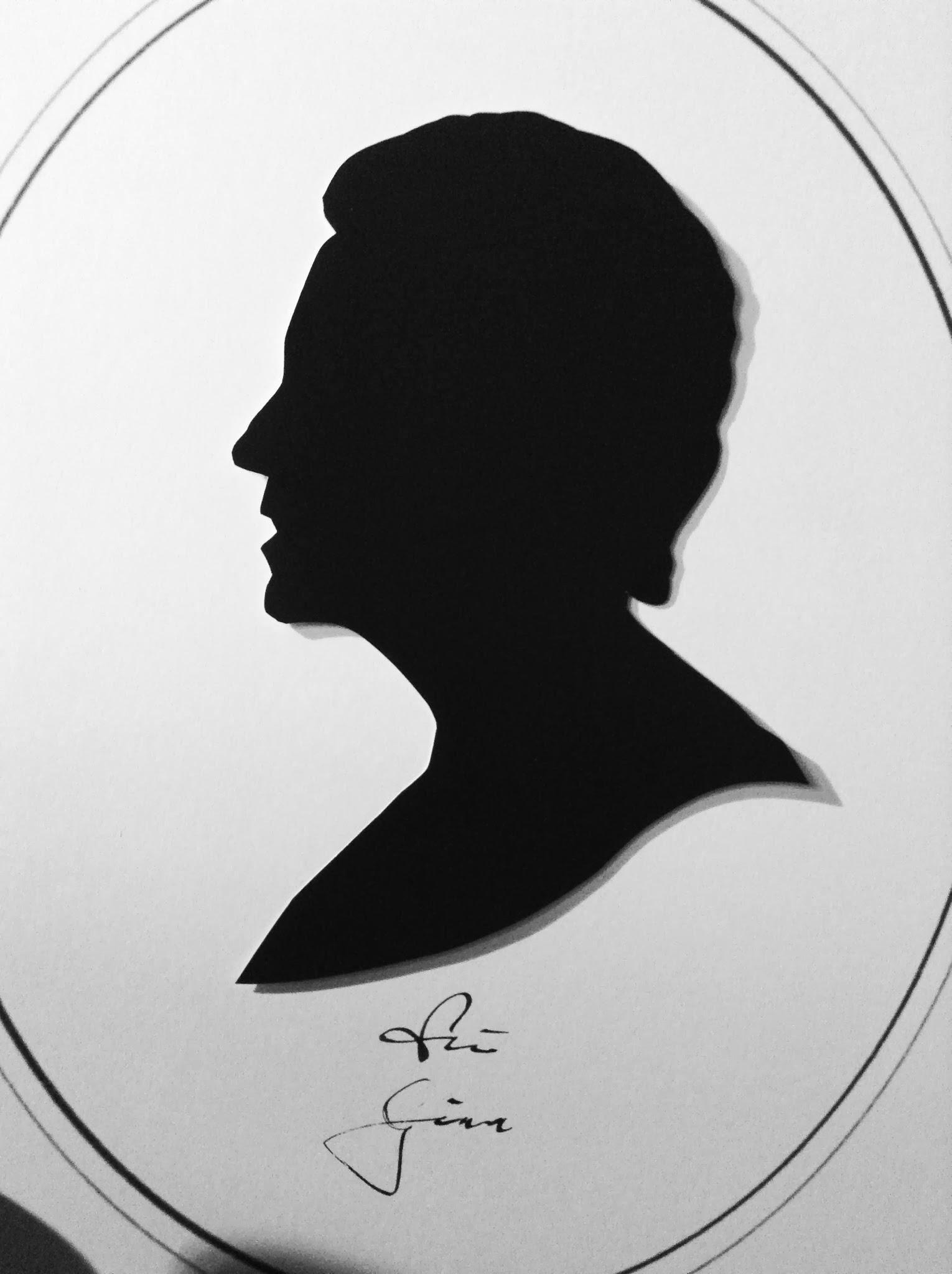 Portrait Silhouettist LEONARDO